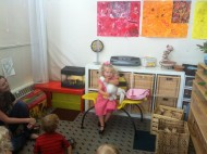 More show and tell at Lucky Duck Day